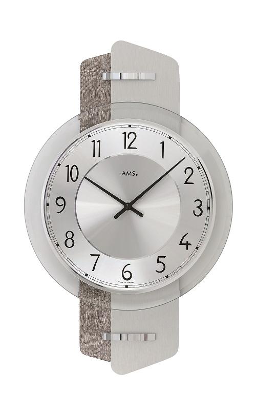 AMS9408  お洒落なデザインです! AMS アームス掛け時計
