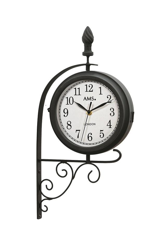 斬新なデザインです! AMS アームス掛け時計 AMS9433