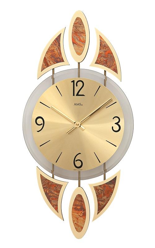 斬新なデザインが光ります! AMS アームス掛け時計  AMS9437