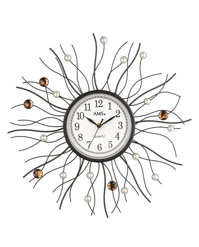 斬新デザインです!AMS アームス掛け時計 AMS9445