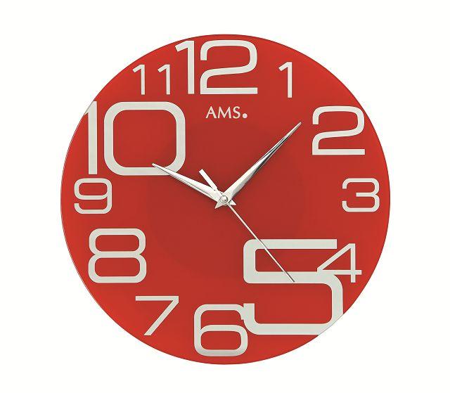 斬新なデザインが魅力! AMS アームス掛け時計 AMS9462
