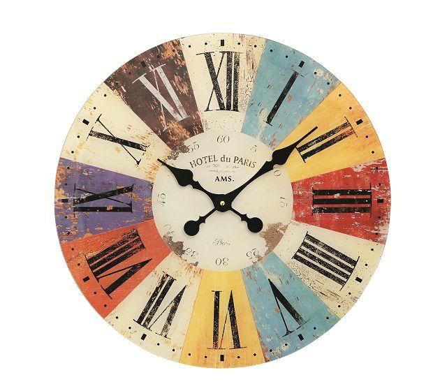 斬新なデザインが魅力! AMS アームス掛け時計 AMS9467