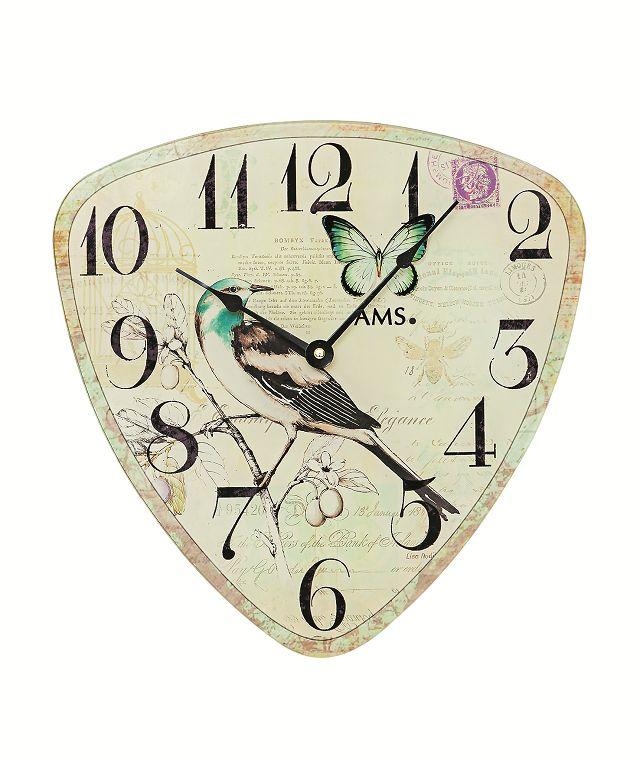AMS9480 トライアングルスタイルが斬新! AMS アームス掛け時計