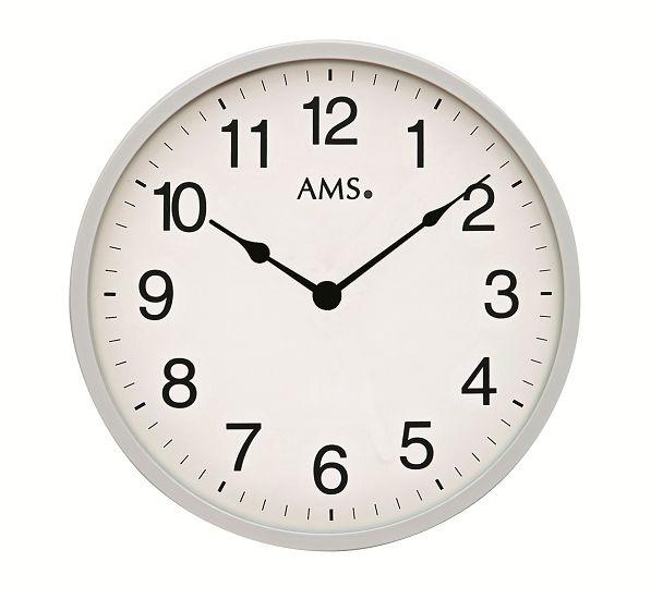 シンプルデザインが光ります! AMS アームス掛け時計  AMS9493