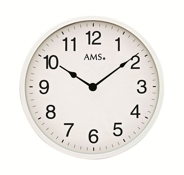 シンプルデザインが光ります! AMS アームス掛け時計  AMS9494