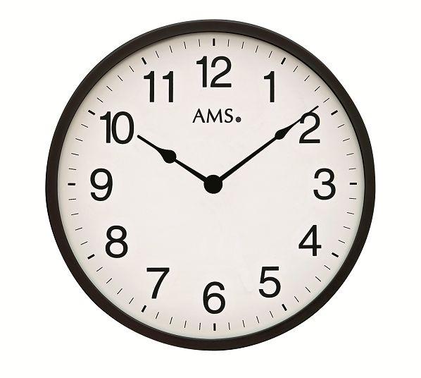 シンプルデザインが光ります! AMS アームス掛け時計  AMS9495