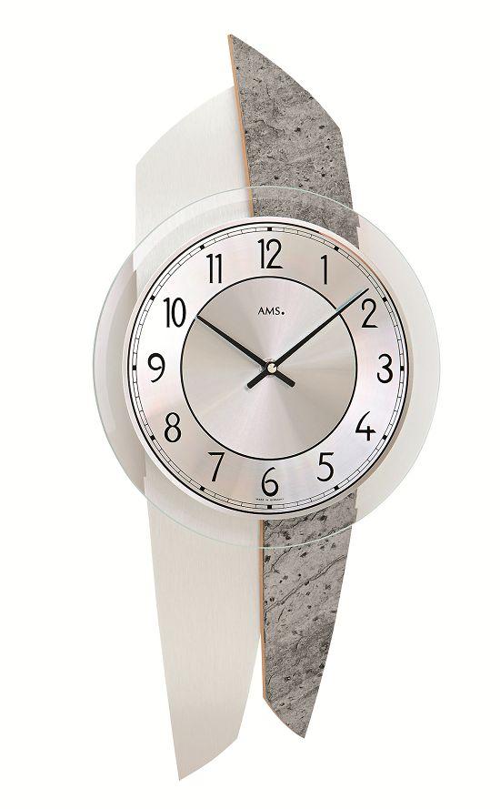 AMS9500 斬新なデザインが魅力! AMS アームス掛け時計 ドイツ