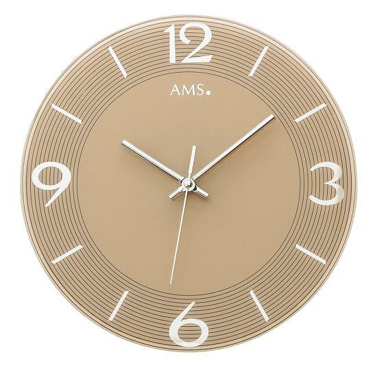 シンプルなデザインが魅力! AMS壁掛け時計 アームス掛け時計 AMS9572