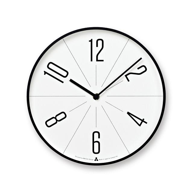 Lemnos レムノス掛け時計 GUGU ブラック AWA13-02BK