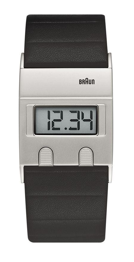 【日本正規代理店品】 ブラウンBRAUNデジタルリストウォッチ  腕時計  BN0076SLBKG