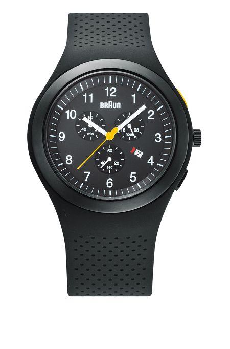 【日本正規代理店品】 ブラウンBRAUNリストウォッチ 腕時計  クロノグラフ  BN0115BKBKBKG