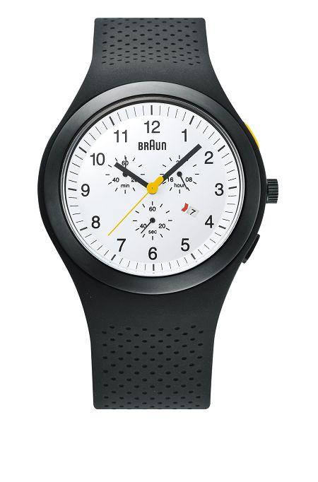 【日本正規代理店品】 ブラウンBRAUNリストウォッチ 腕時計  クロノグラフ  BN0115WHBKBKG