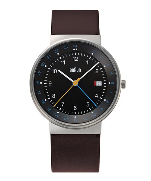 【日本正規代理店品】 ブラウンBRAUN腕時計 GMT 10219  Watch BN0142BKBRG