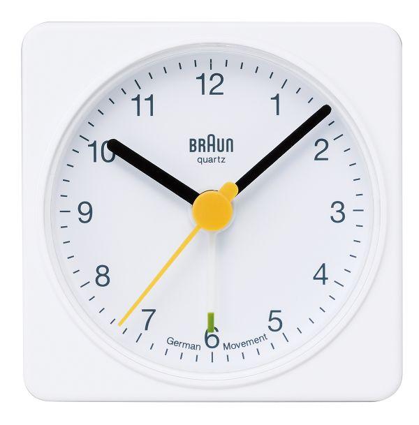 【日本正規代理店品】 ブラウンBRAUNアラームクロック  BNC002 目覚まし時計