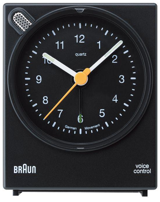 【日本正規代理店品】 ブラウンBRAUNアラームクロック  BNC004 目覚まし時計