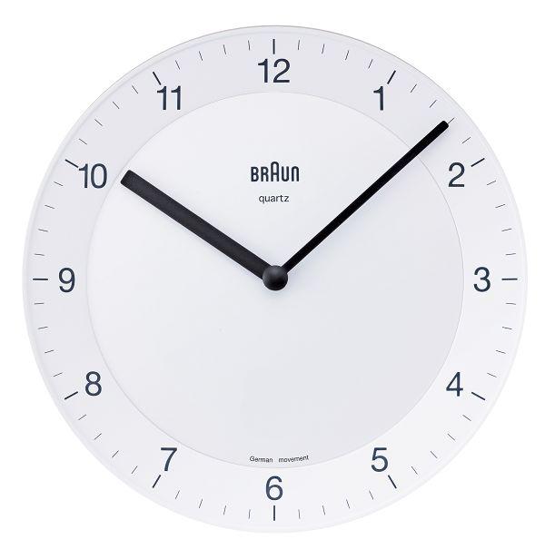 【日本正規代理店品】 ブラウンBRAUN掛け時計  BNC006 壁掛時計