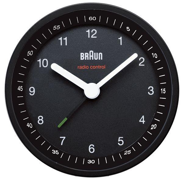 【日本正規代理店品】 ブラウンBRAUNアラームクロック  BNC007 目覚まし時計
