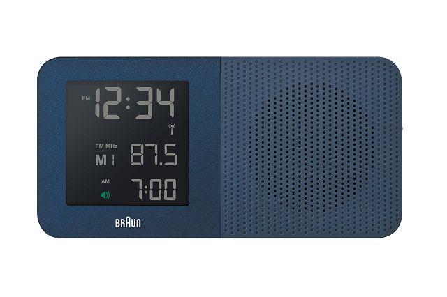 【日本正規代理店品】 ブラウンBRAUNラジオ グローバル電波アラームクロック  BNC010BL-SRC