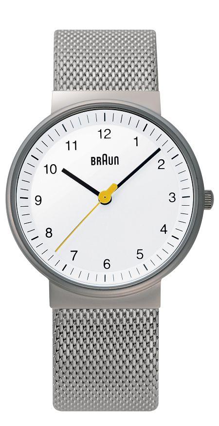 【日本正規代理店品】 ブラウンBRAUNリストウォッチ 腕時計  BNH0031WHSLMHL