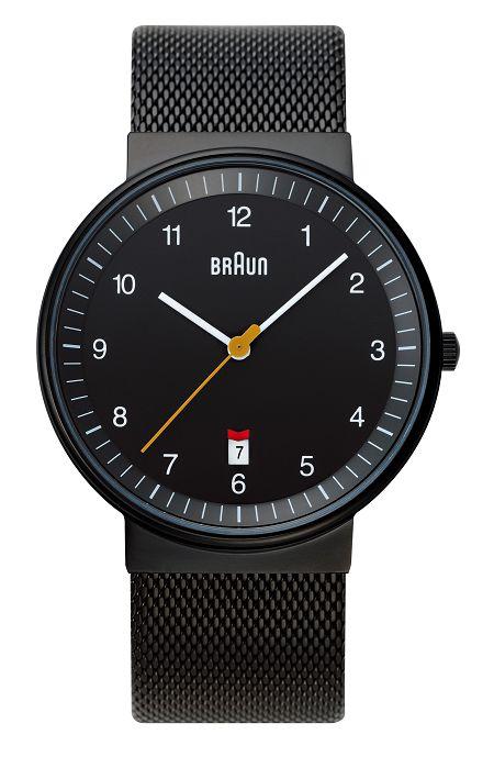 【日本正規代理店品】 ブラウンBRAUNリストウォッチ 腕時計  BNH0032BKBKMHG