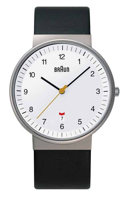 【日本正規代理店品】 ブラウンBRAUNリストウォッチ 腕時計  BNH0032WHBKG