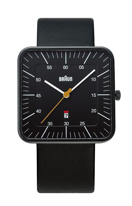 【日本正規代理店品】 ブラウンBRAUNリストウォッチ  腕時計 スクエア  BNH0042BKBKG