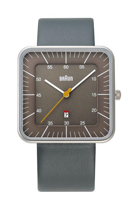 【日本正規代理店品】 ブラウンBRAUNリストウォッチ  腕時計 スクエア  BNH0042GYGYG
