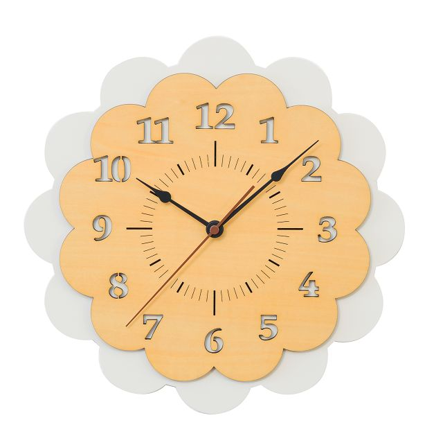 CHAMBRE SOLEIL CLOCK 掛け時計   CH-029WH ホワイト