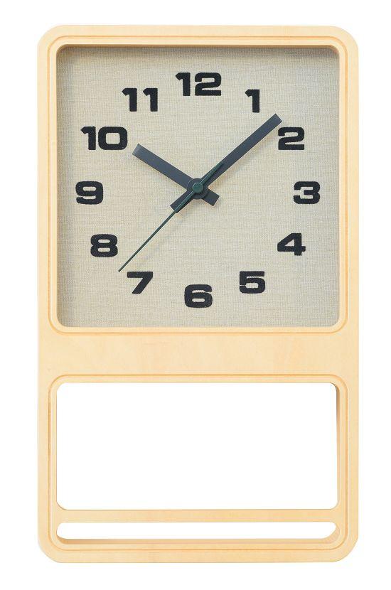CHAMBRE LUCK CLOCK 掛け時計  置き時計  CH-030BC  ナチュラル