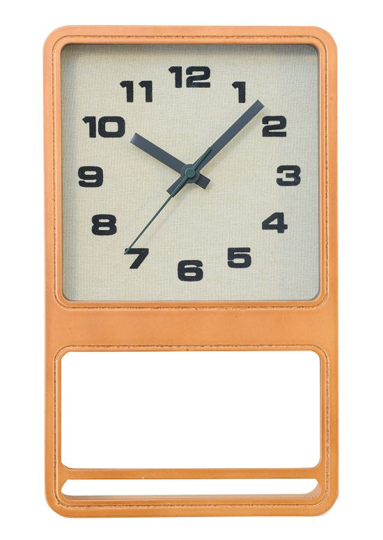 CHAMBRE LUCK CLOCK 掛け時計  置き時計  CH-030CB カフェブラウン