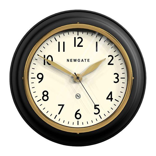 NEW GATE(ニューゲート) COOKHOUSE2  マットブラック COOK-MK  掛け時計 レトロな壁掛け時計【送料無料】