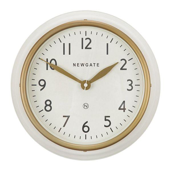 NEW GATE(ニューゲート) COOKHOUSE2  マットホワイト COOK-MW  掛け時計 レトロな壁掛け時計【送料無料】