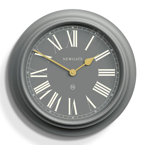 NEW GATE ニューゲート掛け時計 Chocolate Shop Wall Clock - Posh Grey CSWC-PG ニューゲート時計【送料無料】