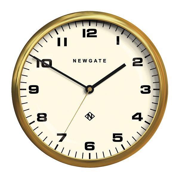 NEW GATEニューゲート掛け時計 Chrysler Wall Clock Radial Brass CWC-RB