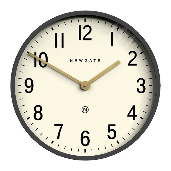 NEW GATEニューゲート掛け時計 Mr Edwards Wall Clock - Matt Blizzard Grey EWC-MBG