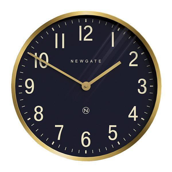 NEW GATEニューゲート掛け時計 Mr Edwards Wall Clock - Radial Brass EWC-RBNV