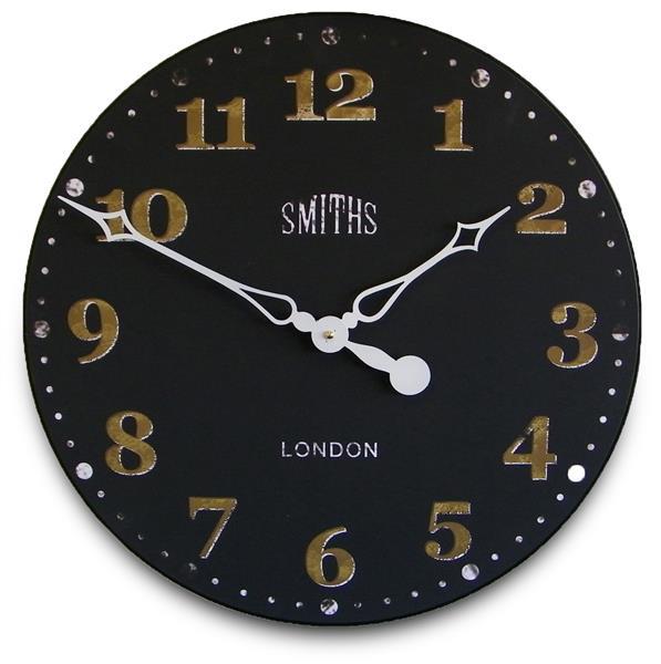 ロジャーラッセルRogerLascelles掛け時計 Smiths Wall Clock Antique Style Black   50cm掛け時計 GAL-SMITHS-BLACK