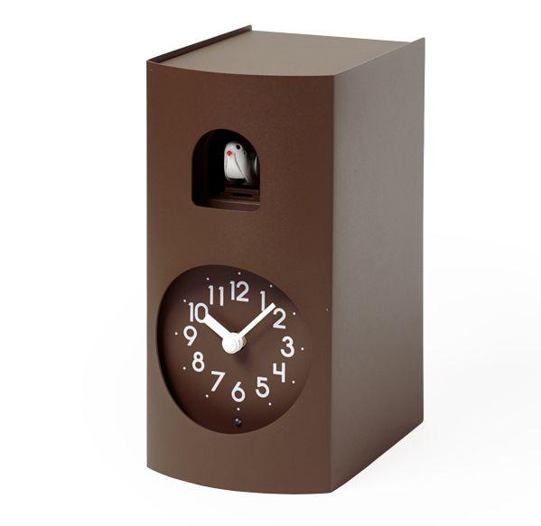 鳩時計 カッコークロック 置き掛け兼用 Lemnos レムノス Bockoo ブラウン GF17-04BW