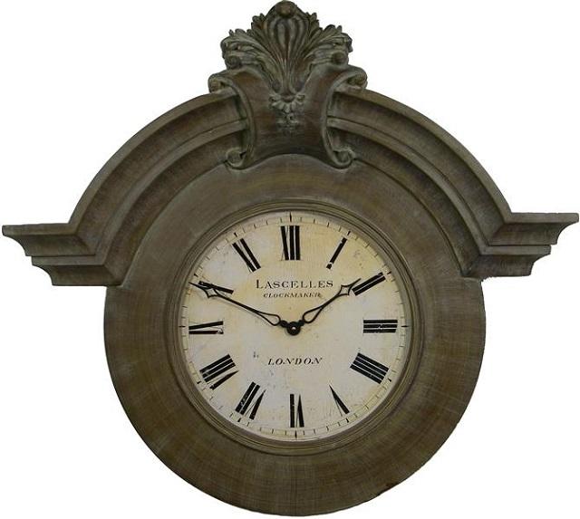 アンティーク調でお洒落!ロジャーラッセルRogerLascelles社製 Large Ornamental Chateau  掛け時計 GRAND-ORN-LASC
