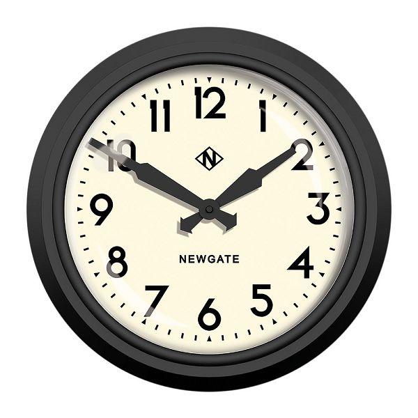ニューゲート掛け時計 50's Electric マットブラック GWL12MK NEWGATE掛け時計
