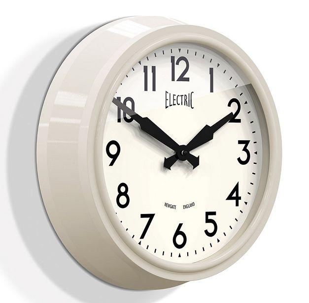 NEW GATE(ニューゲート) 50's Electric クリーム GWL44SC 掛け時計