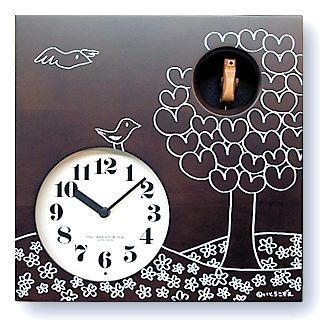鳩時計 さんてる 日本製 はと時計 IK656BR カッコークロック 国産 手作り