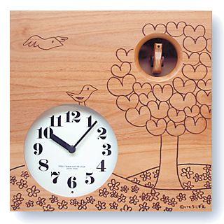 鳩時計 さんてる 日本製 はと時計 IK656NA カッコークロック 国産 手作り