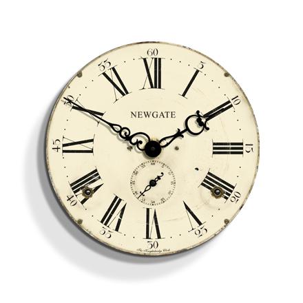 アンティーク調デザインがお洒落です!NEW GATEニューゲート掛け時計 KNIGHTSBRIDGE KN266AW