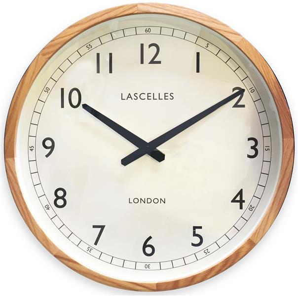ロジャーラッセル RogerLascelles 掛け時計 Wooden Oak Case Traditional Clock 41.5cm LC-LASC-OAK