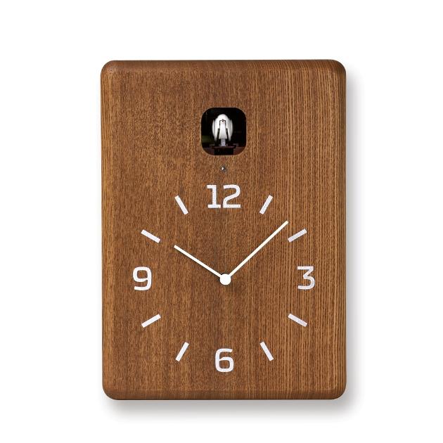 鳩時計 可愛い巣箱のクロックです!Lemnos レムノス カッコー掛け時計 cucu LC10-16DBW