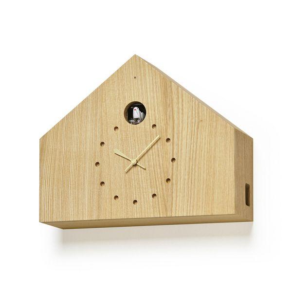 鳩時計 カッコークロック  はと時計 ハト時計 Lemnos レムノス カッコー掛け時計 CUCULO FELICE ナチュラル  MAA18-01NT