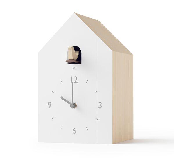 鳩時計 カッコークロック  はと時計 ハト時計 Lemnos レムノス cuckoo-collection bookend ブックエンド NL19-01