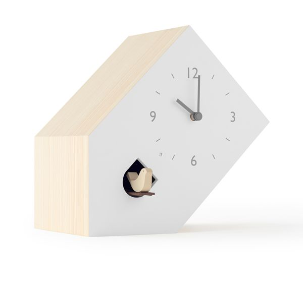鳩時計 カッコークロック  はと時計 ハト時計 Lemnos レムノス cuckoo-collection tilt  ティルト NL19-02