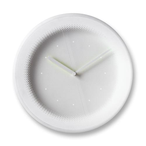 曲面カバーが美しい Lemnos レムノス 掛け時計 HONOKA NTL08-11-2